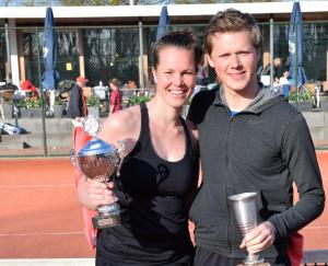 Clubkampioenen 2019 Joyce Bertens en Luuk van Logtestijn